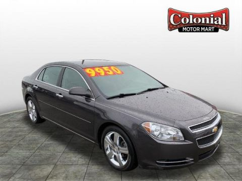 Pre-Owned 2012 Chevrolet Malibu LT FWD LT 4dr Sedan w/3LT